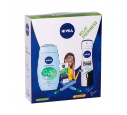 Nivea Clay Fresh Żel pod...